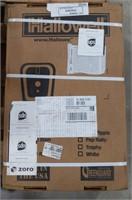 NOS Hallowell Orange Wardrobe Locker, (1) Wide,