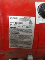 Fix location electric heater model DH1583C. 208V,