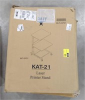 Laser printer stand