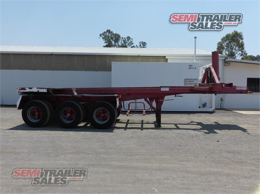 1998 Howard Porter Skeletal Trailer Semi Trailer Sales - Trailers for Sale
