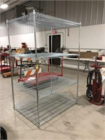 Metro adjustable wire shelving unit