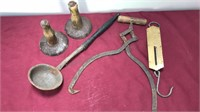 Collection of Antique Kitchen Items Includes