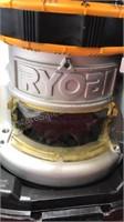 Ryobi 8 amp 1 1/2 HP Router Kit In Plastic Carry