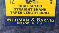 Whitman and Barnes New Old Stock Unopened Package