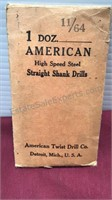 Collection of Antique Drill Bits American Twist