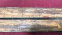 Antique Folding and Hinged Ruler