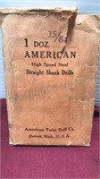 Collection of Vintage American Standard Tool and