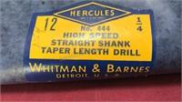 Vintage Whitman and Barnes Hercules High Speed