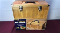 Benchtop Pro Wooden Tool Box In Original Box