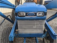 Ford 1720 tractor with loader and 3-pt hitch,
