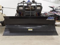 2004 Polaris 600 Twin Sportsman Quad with plow and