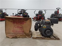 BKN Wisconsin heavy duty air-cooled engine with