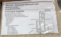 Universal eyewash cart new in box