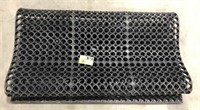 Notrax large rubber mat, slip resistant. (5x3)