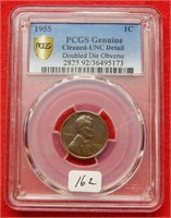 New Years Day Graded Coin Auction