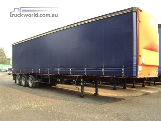 2004 Vawdrey 22 Pallet Curtainsider Trailer - Trailers for Sale