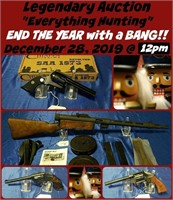 "Legendary ""Everything Hunting"" Auction- Dec 28"