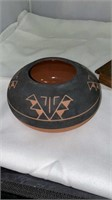 Tribal Cutting Board and Bowl
