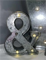Metal Light Up Letters