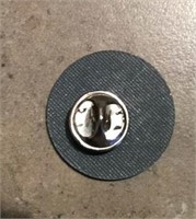 Military Buttons & Sterling Silver  Pin