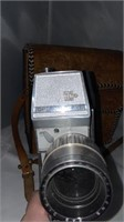 Leather Bag and Camera