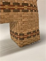 Early Woven Stair Basket
