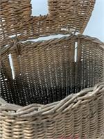 Antique Wicker Fishing Creel