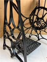 Repurposed Sewing Machine Base/Table