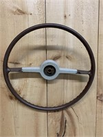Antique Automobile Steering Wheel