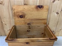 Pine Blanket Box
