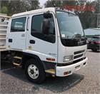 2007 Isuzu FRR 550 Crew Cab Chassis