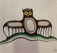 Original Eddi Kakepetum 1981 Oil on Paper