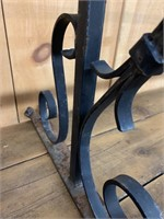 Heavy Forged Wall Brackets and Twisted Iron Rod