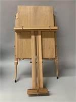 Modern Artists Easel with Paints