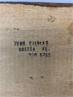 John Pickles Birds Eye Maple Whale Carving