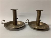 Pair of Mechanical Finger Candle Holders