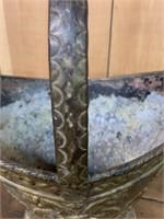 Victorian Brass Ash Pot