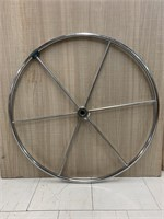 Stainless Steel Sail Boat Steering Wheel