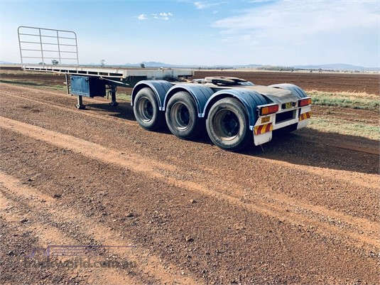 2000 Maxitrans Flat Top Semi A Trailer - Trailers for Sale
