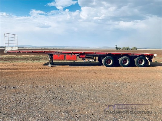 1996 Vawdrey 44FT FLAT TOP TRAILER - Trailers for Sale