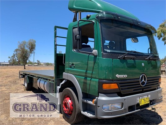 2001 Mercedes Benz Atego 1623 Grand Motor Group - Trucks for Sale