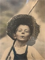 Tom Sawyer 1891 Print in Oak Frame
