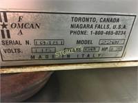 """Omcan 9"""" Meat Slicer - 220F"""