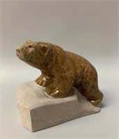 Marice L. Lund Soapstone Carving