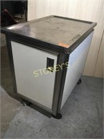Rolling S/S Cabinet - 2' x 3' x 3'