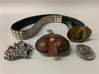 Nostalgia Belt/Buckle/Fob Lot