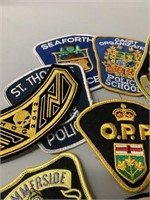 Group of Many Police and Other Badges