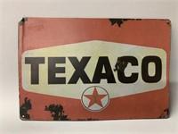 Repro Texaco Tin Sign