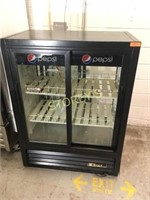 True Dbl Sided Glass Sliding Cooler - GDM-33-CPT54