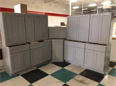 11 PIECE STERLING GREY KITCHEN CABINET SET Other Items For ... on